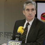 Ramón Jáuregui, durante la entrevista concedida el martes a la cadena SER. (Efe)