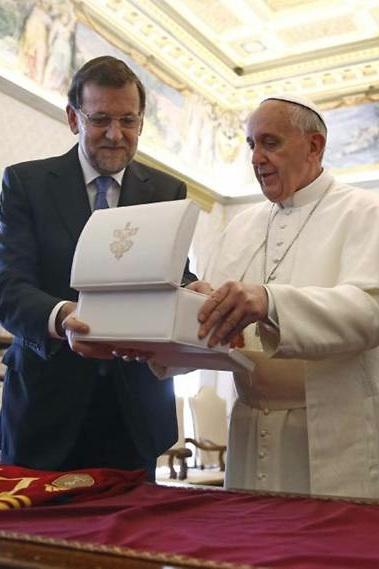 Rajoy_papa_Francisco_Santa_Sede