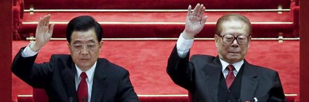 Hu Jintao y Jiang Zeming, dirigentes chinos querellados por el genocidio del Tibet /Efe