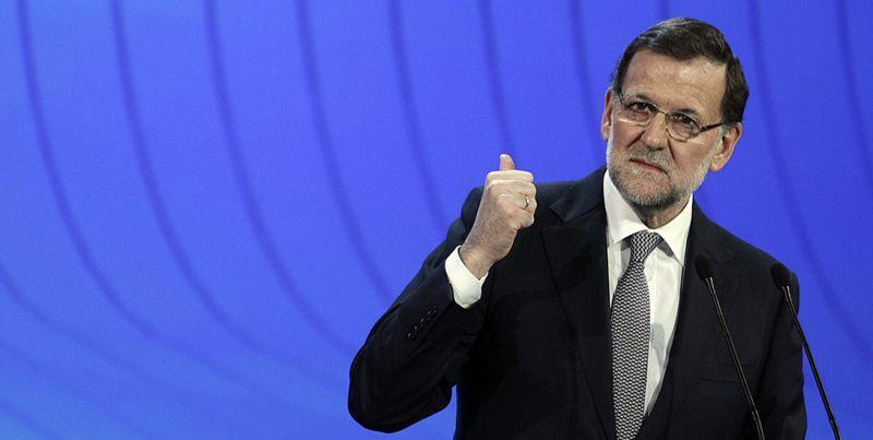 Mariano Rajoy durante la clausura de la Convención Nacional del PP celebrada en Valladolid. / pp.es