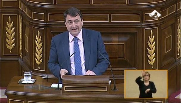 Aitor Esteban, portavoz de Grupo Nacionalista Vasco en el Congreso.