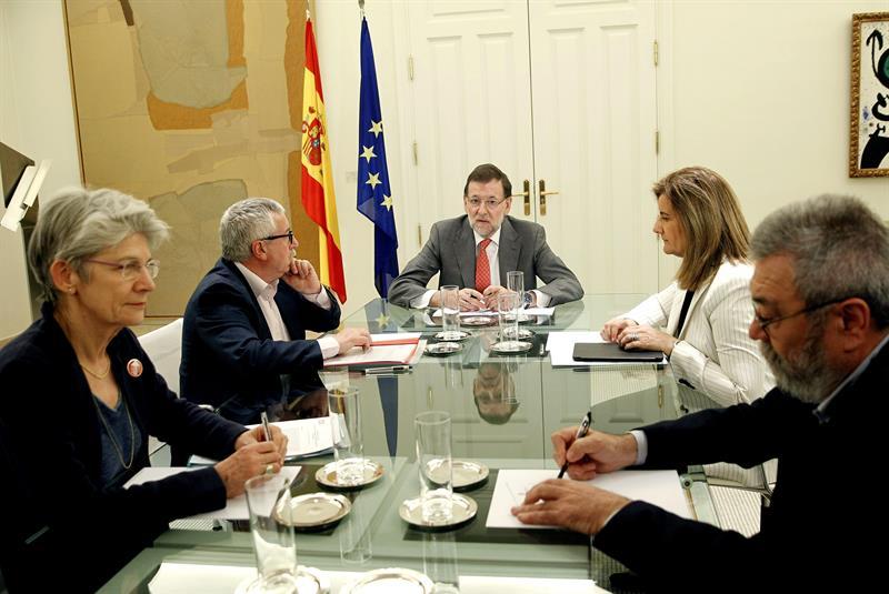 Méndez_Toxo_Rajoy_Primero_de_Mayo