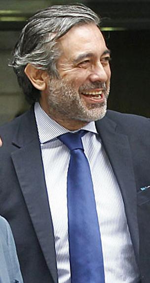 Enrique López, en la Audiencia Nacional. /Efe