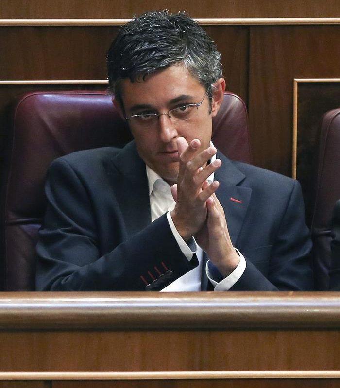 Eduardo Madina, esta misma semana, en el Congreso. / Ballesteros (Efe)
