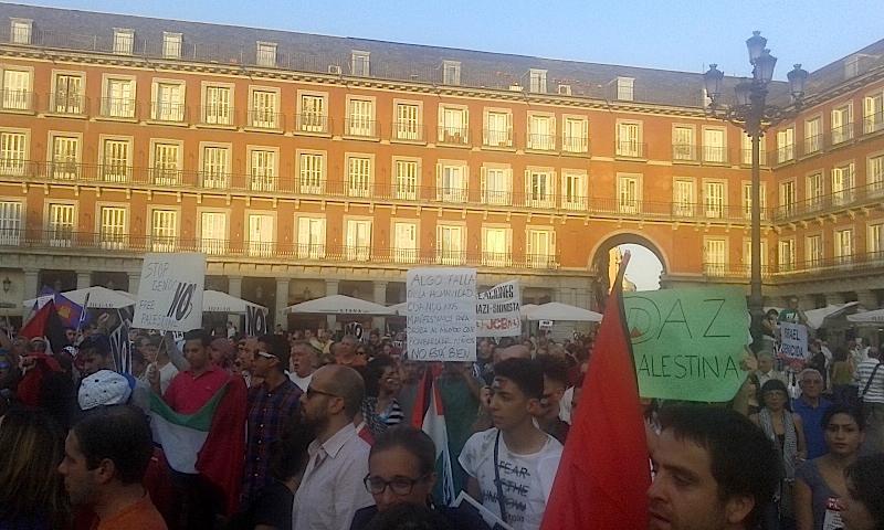 manifestación_plaza_Mayor
