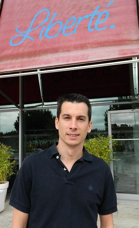 Luis Segura es autor de 'Un paso al frente'. / L. D.