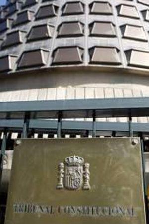 Fachada del Tribunal Constitucional. / Efe