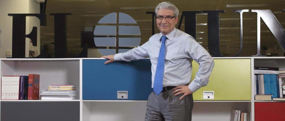 Casimiro García Abadillo tras sser nombrado director de El Mundo