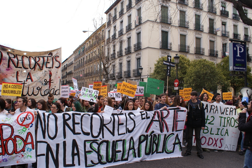Enseñanzas_artísticas_decreto_3+2 educación pública en Madrid