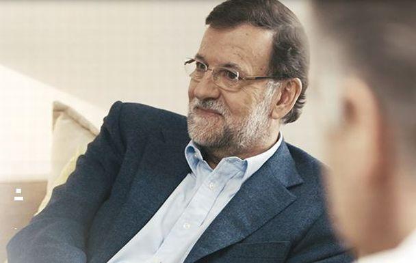 Mariano Rajoy en la cabecera del vído de la campaña 'Aún queda mucho por hacer' del Partido Popular. / pp.es