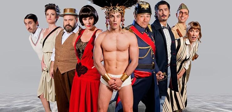 Una de las imágenes promocionales de 'El eunuco'. / teatrolalatina.es
