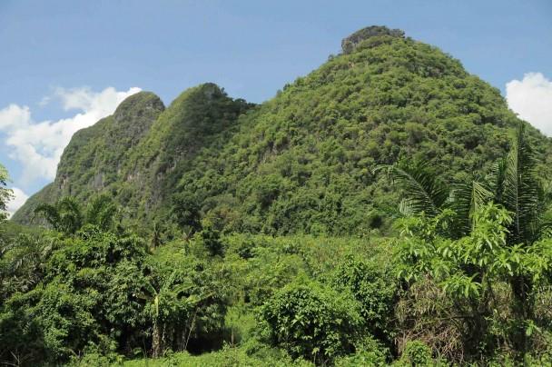 Montañas de Kah Koew, en las proximidades de Padang Besar. (M.G.P.)