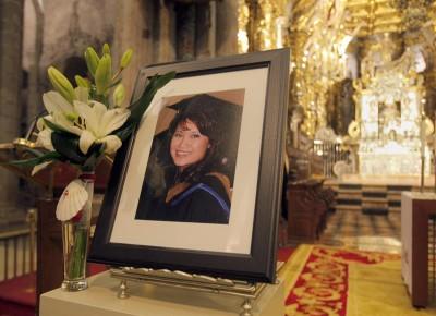 Funeral_peregrina_asesinada_Santiago