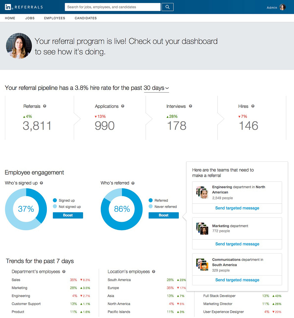 how to add admin to linkedin
