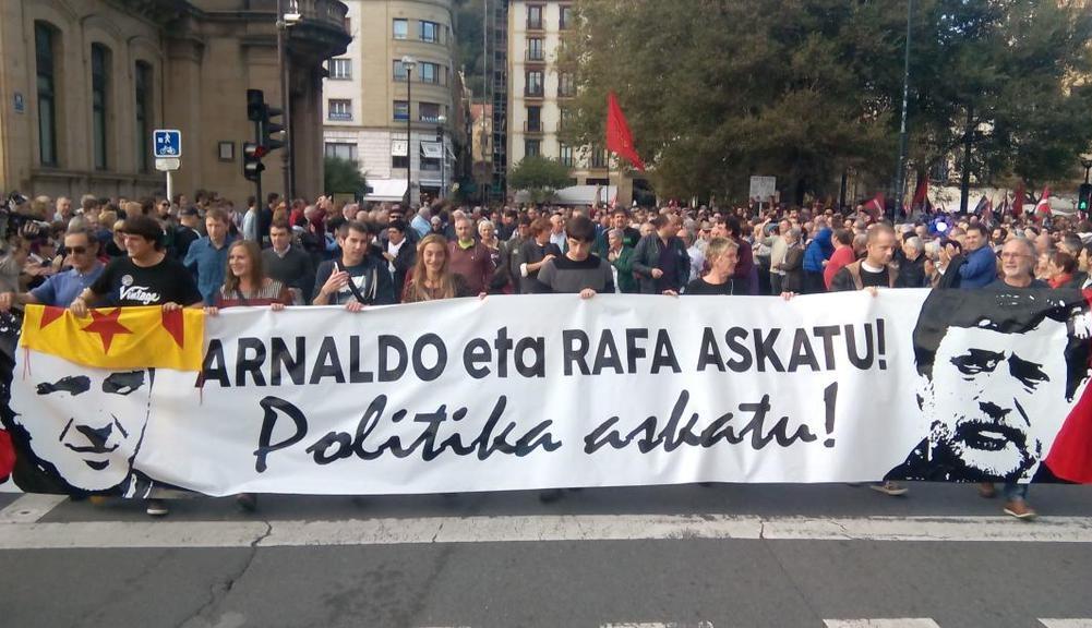 Manifestación_libertad_Arnaldo_otegi