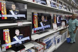 Imagen de una tienda de venta de electrodomésticos. / Efe
