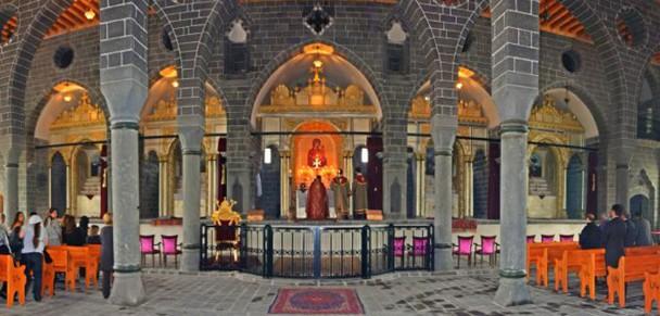 La iglesia de Surp Giragos, después de ser restaurada con ayuda del Ayuntamiento de Diyarbakir (Turquía). / Agos Weekly