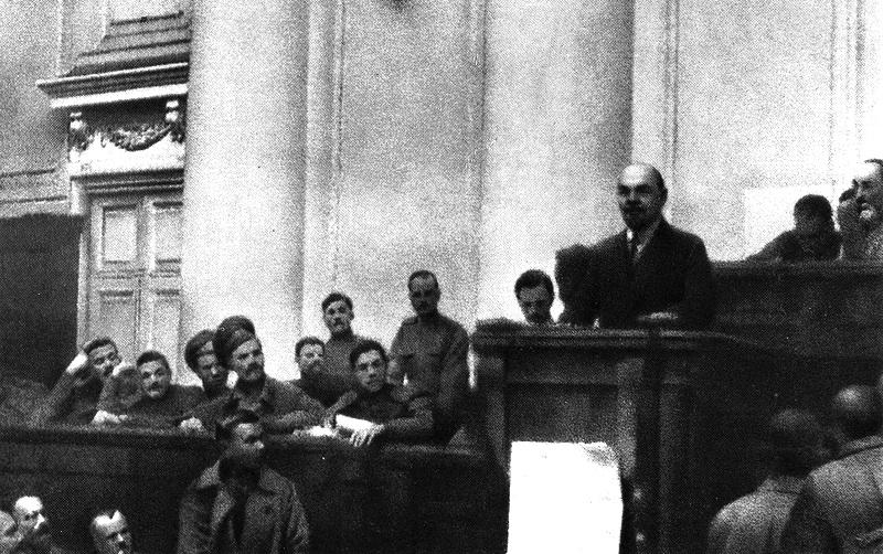 PCE Revolucion de Octubre Lenin