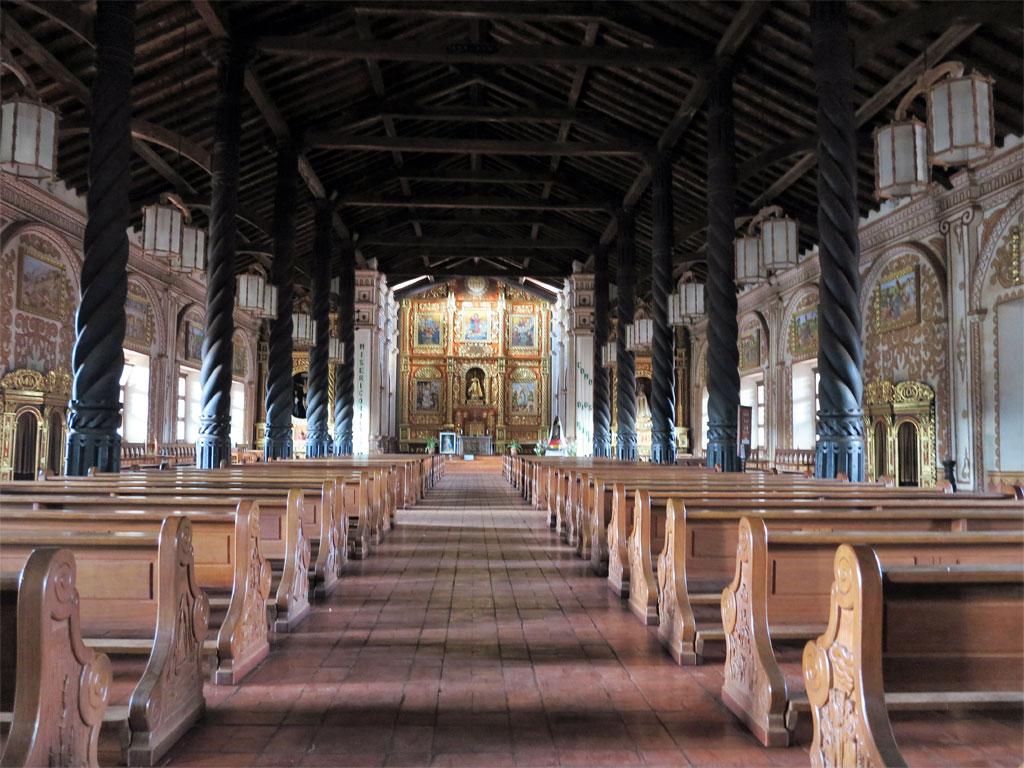 Iglesia en la Misión Concepción, región Chiquitana (Bolivia). / J.M.