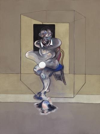 Artist : Francis Bacon (Ireland; England, b.1909, d.1992) Title : Study for self-portrait Date : 1976 Medium Description: oil and pastel on canvas Dimensions : Credit Line : Purchased 1978 Image Credit Line : ©Francis Bacon, 1976/ARS. Licensed by VISCOPY, Sydney. Photographer Credit : Jenni Accession Number : 209.1978
