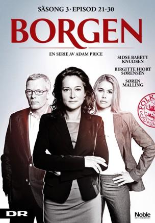 Carátula de la serie danesa Borgen.