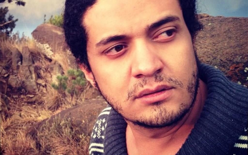 El poeta Ashrad Fayadh. / Amnistía Internacional