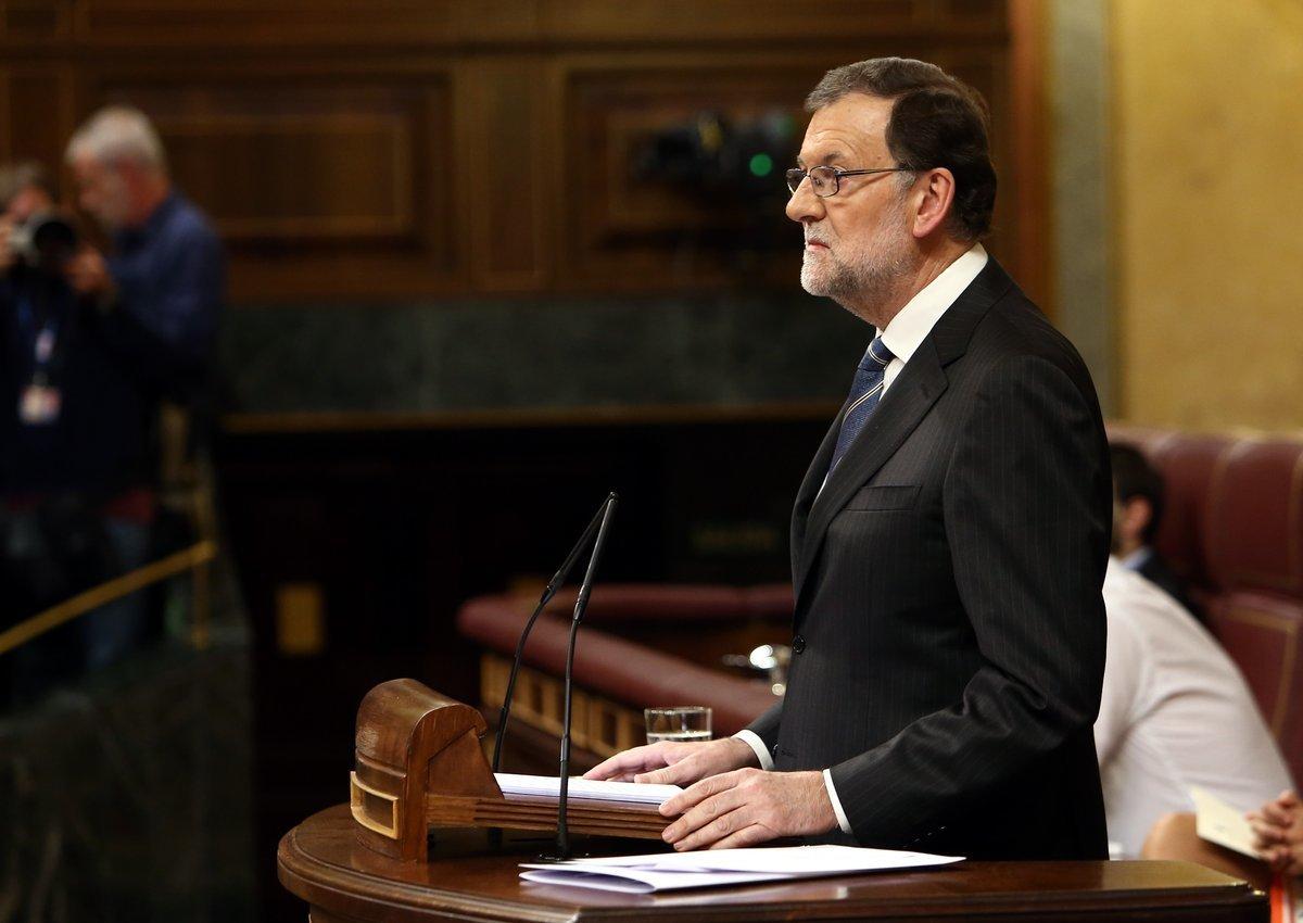 Segunda votación de investidura de Mariano Rajoy