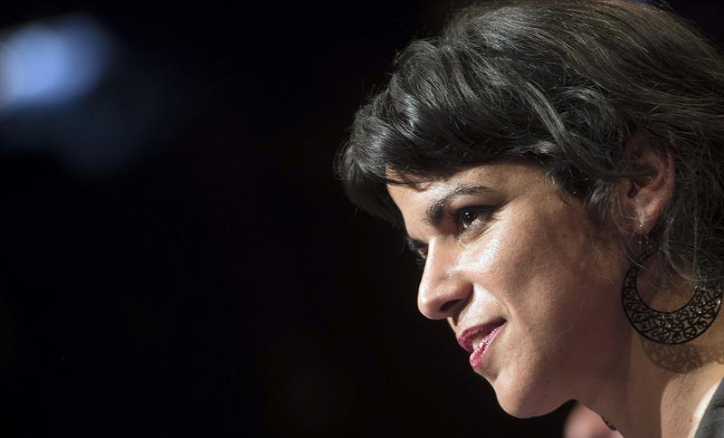 La secretaria general de Podemos Andalucía, Teresa Rodríguez. / Efe