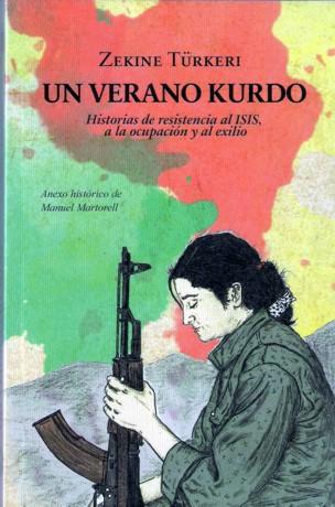 Portada del libro que acaba de publicar la periodista Zekine Turkeri.
