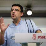 Mario Jiménez. Purga en el PSOE