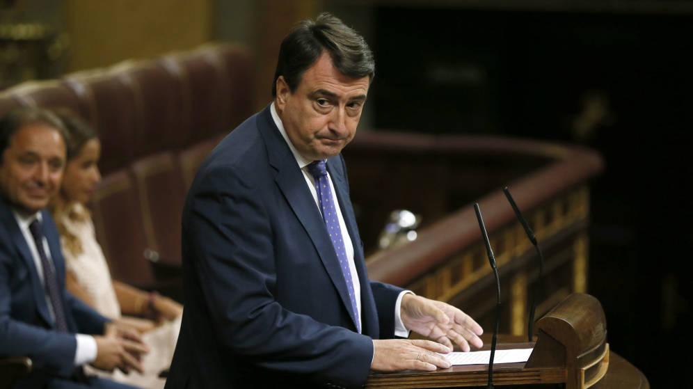El diputado por el PNV, Aitor Esteban. / Efe