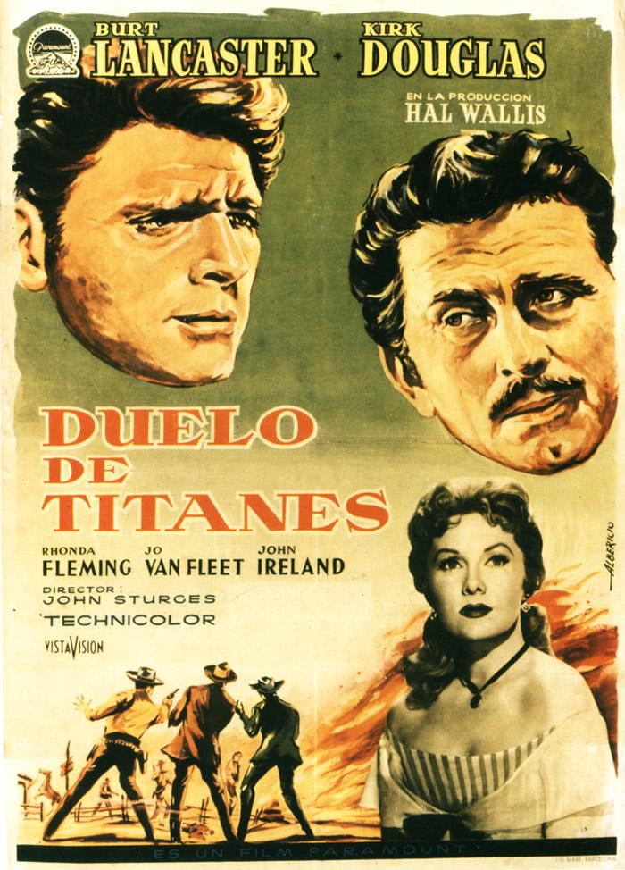 Cartel de 'Duelo de Titanes'. / Wikimedia
