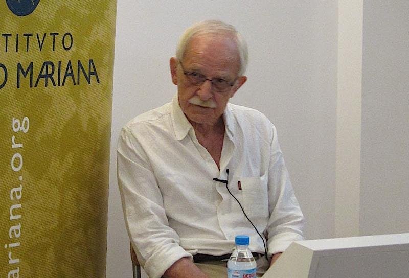 El filósofo Antonio Escohotado