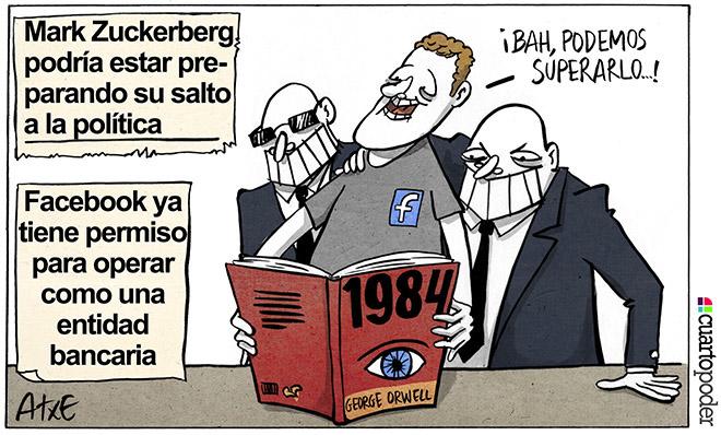 Viñeta de Atxe. Hacia 1984. Control Social