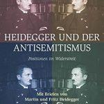 Edición alemana de 'Heidegger y el antisemitismo'.