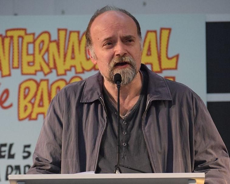 Antoni Guiral en el pasado salón del Cómic de Barcelona/ Wikipedia