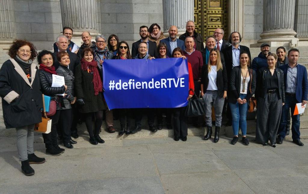 Periodistas miembros de los consejos informativos de RTVE