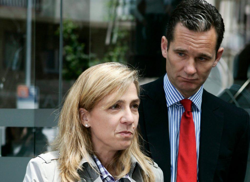 ignorancia. Cristina Federica de Borbón y Grecia y su esposo, Iñaki Urdangarín, en una imagen de archivo