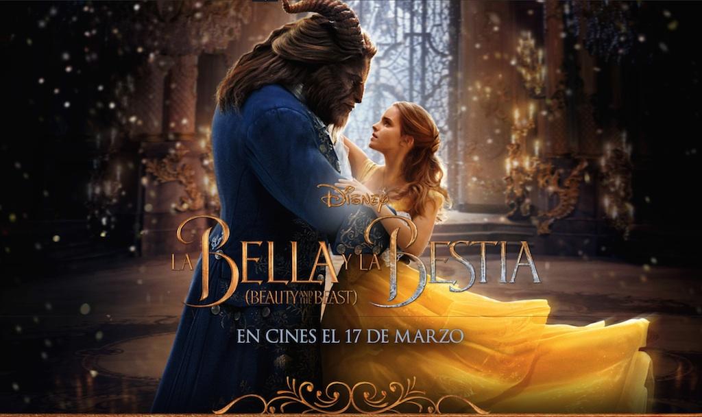 Cartel de la nueva versión de 'La bella y la bestia'.