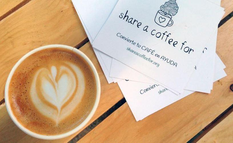 Shre a Coffee For, la iniciativa solidaria creada por las madrileñas Melania Arias e Isabel Ramos Martín, para ayudar a las ONG