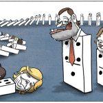 Domino de dominantes. Corrupción del PP