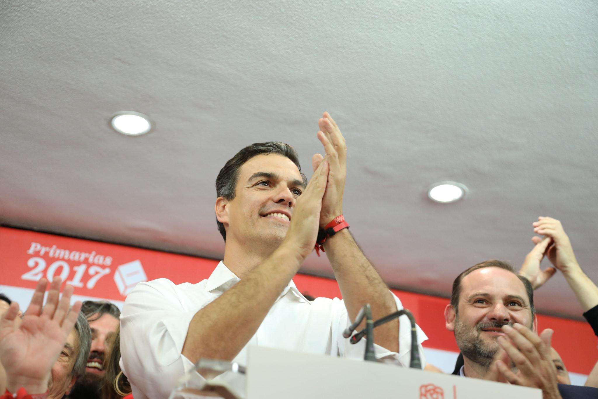 Pedro Sánchez y José Luis Ábalo