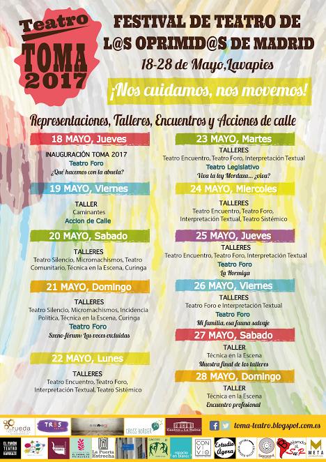 TOMA teatro 2017
