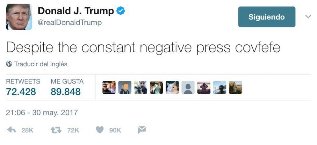 Donald Trump twitter