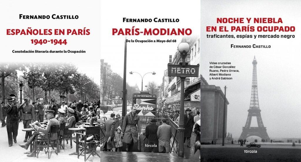'Españoles en París 1940-1944', que acaba de ser publicado por Fórcola Ediciones, completa la trilogía comenzada en 2012 con 'Noche y niebla en el París Ocupado', y que prosiguió en 2015 con París-Modiano