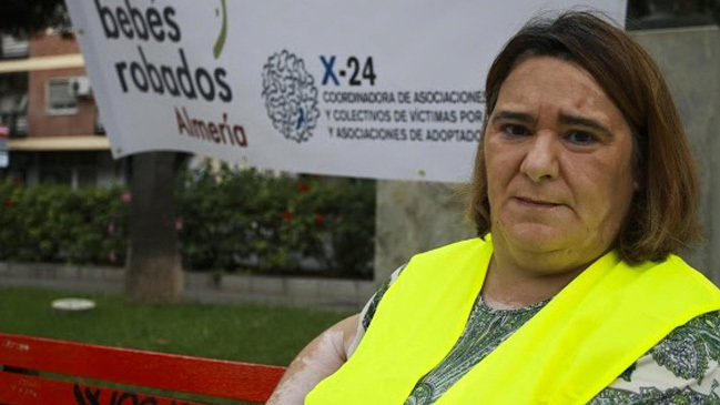 María Ascensión López, afectada por un caso de bebés robados que podría acabar en prisión.