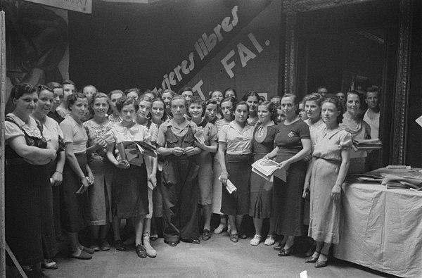 Reunión de Mujeres Libres
