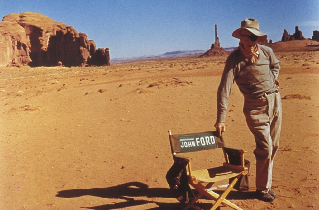 Otros cinco grandes westerns. El director John Ford en Monument Valley.