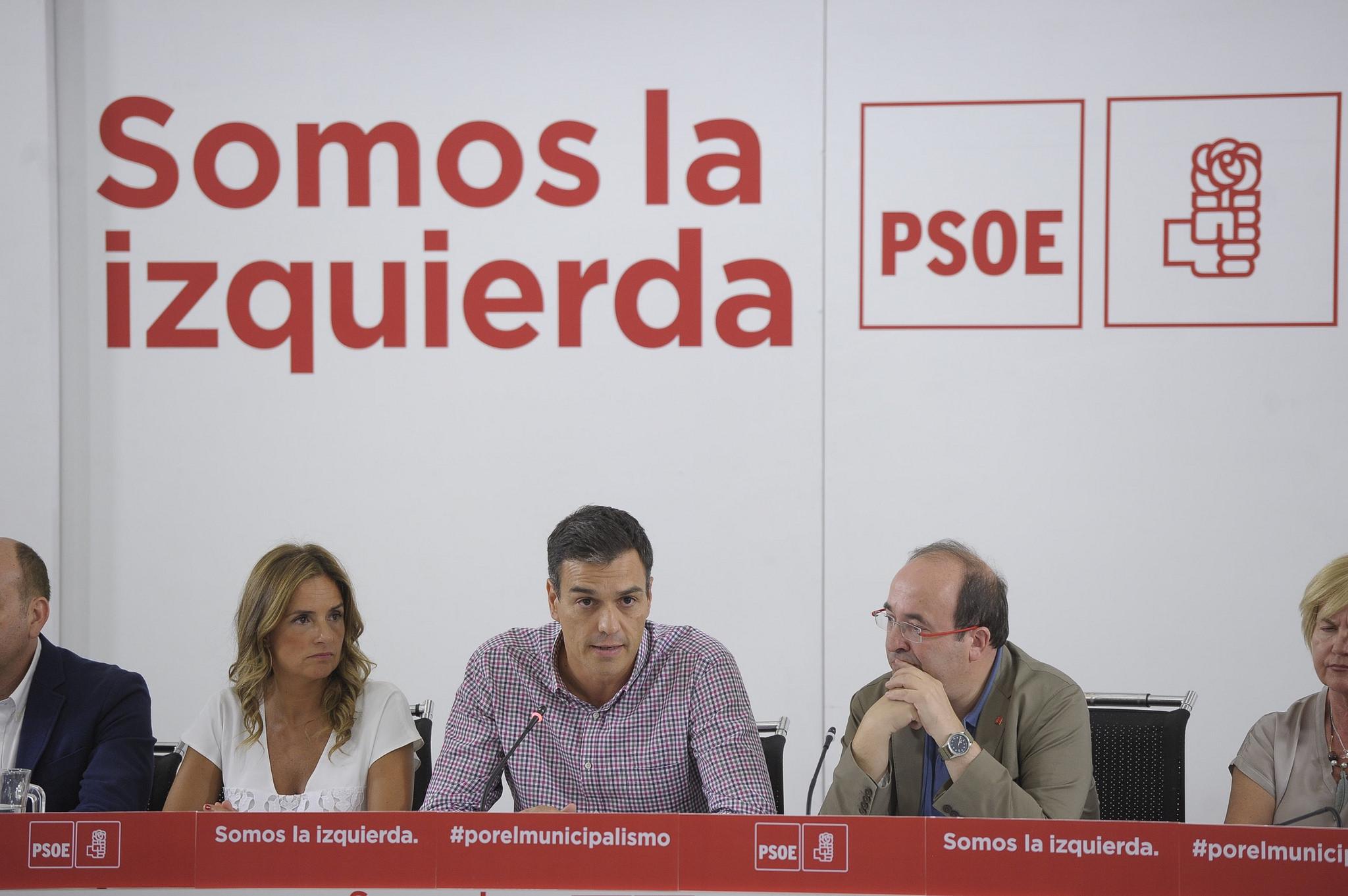 Pedro Sánchez en su Ejecutiva
