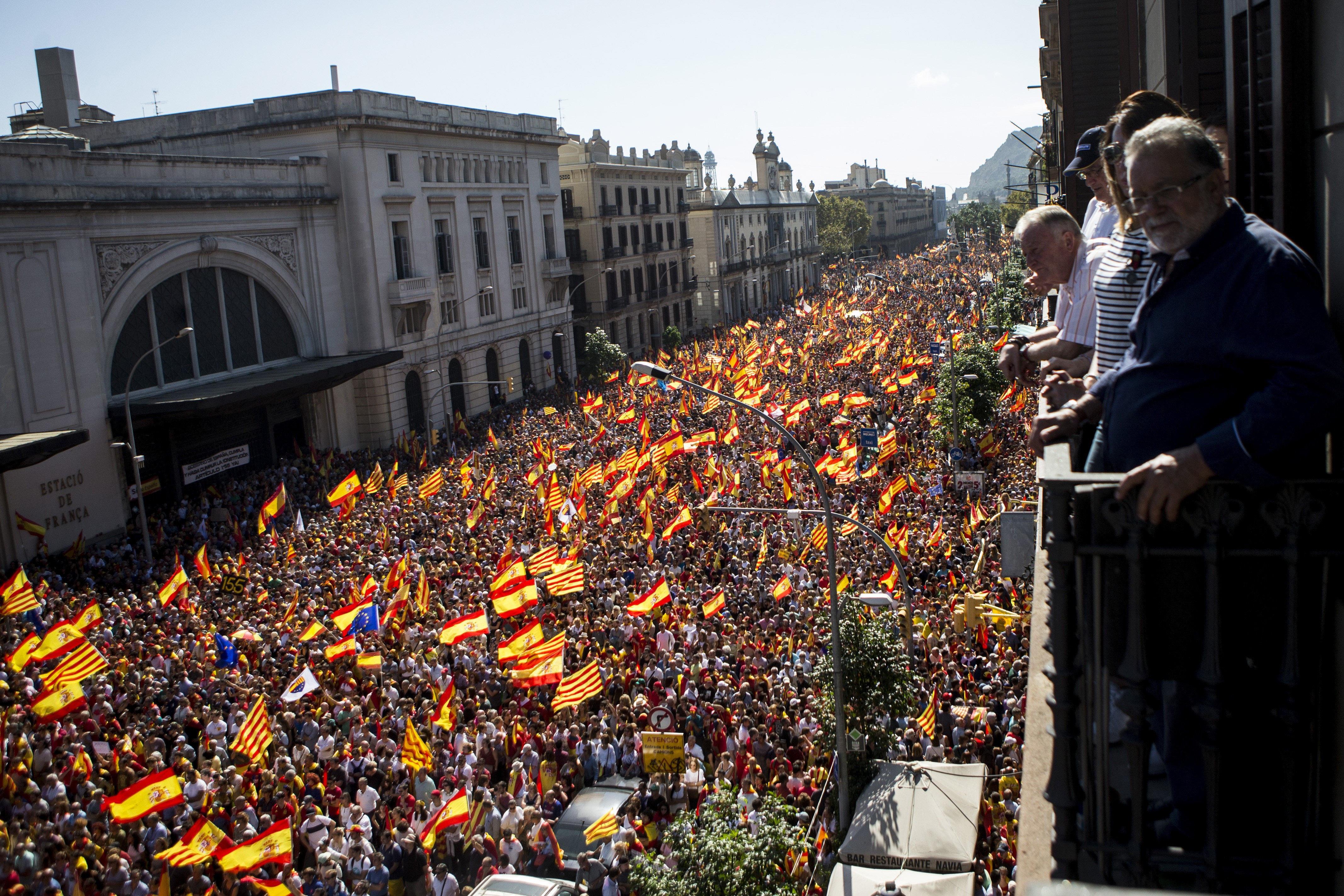 Resultado de imagen de españa manifestacion